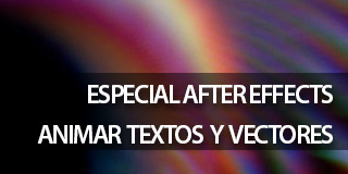 AFter Effects CC; Animación; Texto; 3D;